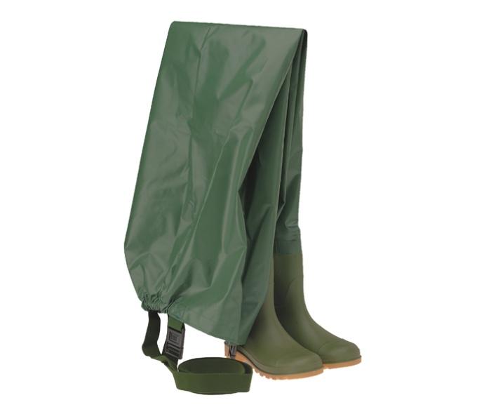 Γαλότσα Με Ενσωματωμένο Παντελόνι Με Τιράντες Πράσινη