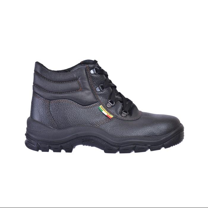 Δερμάτινα Μποτάκια Ασφαλείας BICAP S1 Μαύρα