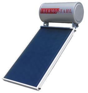 Ηλιακός Θερμοσίφωνας THERMOSTAHL SOLAR SLE 160lt/2.5m² Επιλεκτικός Διπλής Ενέργειας