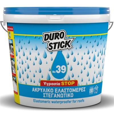 Ακρυλικό Ελαστομερές Στεγανωτικό Ταρατσών Νο 39 Durostick 15Kg