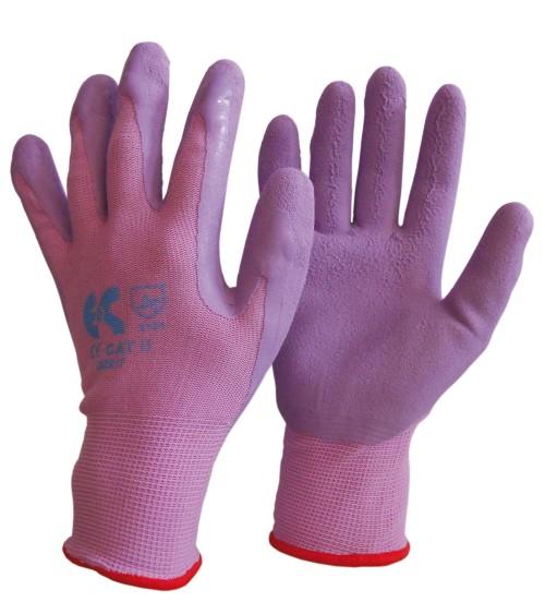 Γάντια Νιτριλίου Λεπτά NBR ΜΩΒ