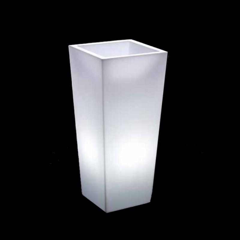 Φωτιζόμενη Γλάστρα Τετράγωνη 40 Χ 40 Χ 70.5 cm