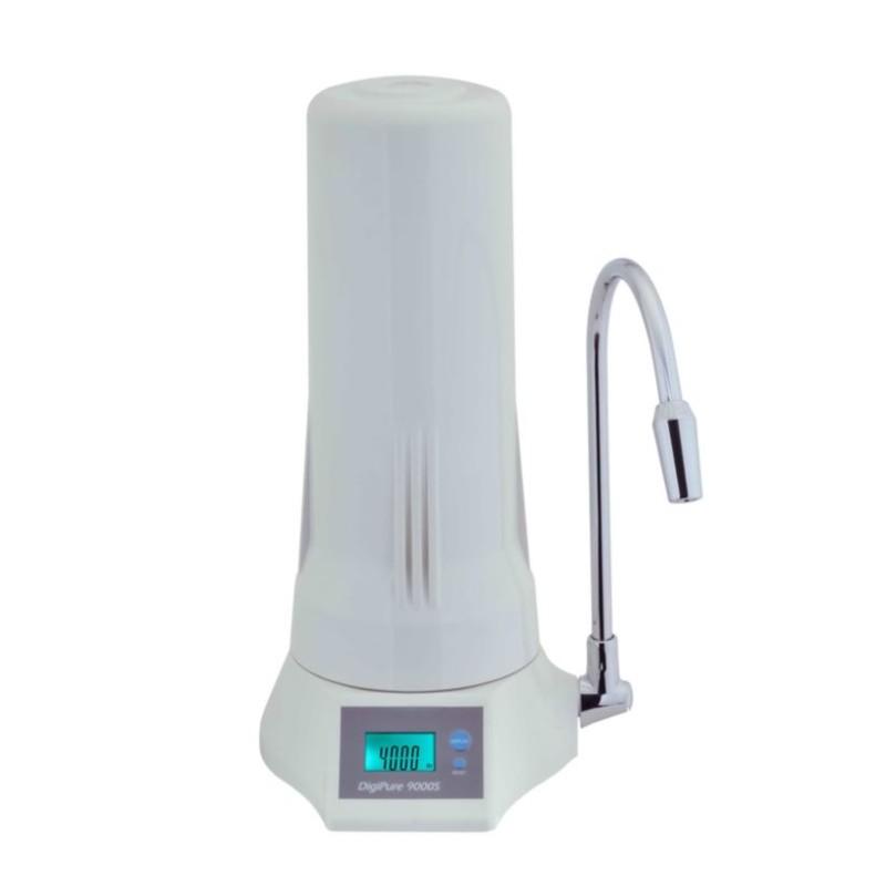 Φίλτρο Νερού Digipure 9000S Λευκό με Ανταλλακτικό Φίλτρο Άνθρακα
