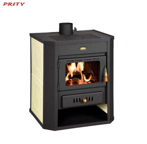 Ξυλόσομπα Με Boiler PRITY WD W15 15+7 KW